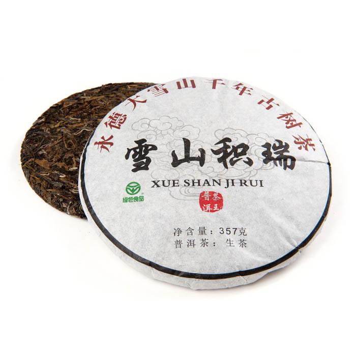 чай шу пуэр точа чен тай