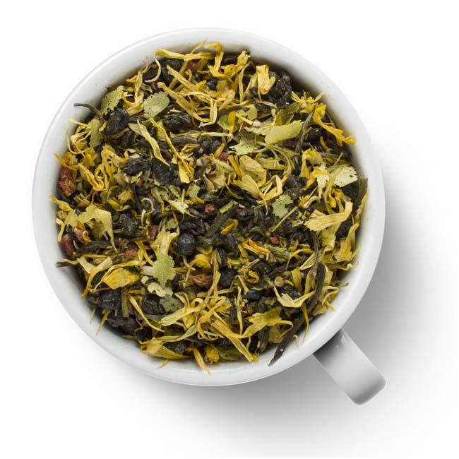 Зеленый ароматизированный чай Липовый сбор