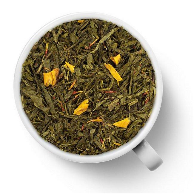 Зеленый ароматизированный чай Манговый коблер