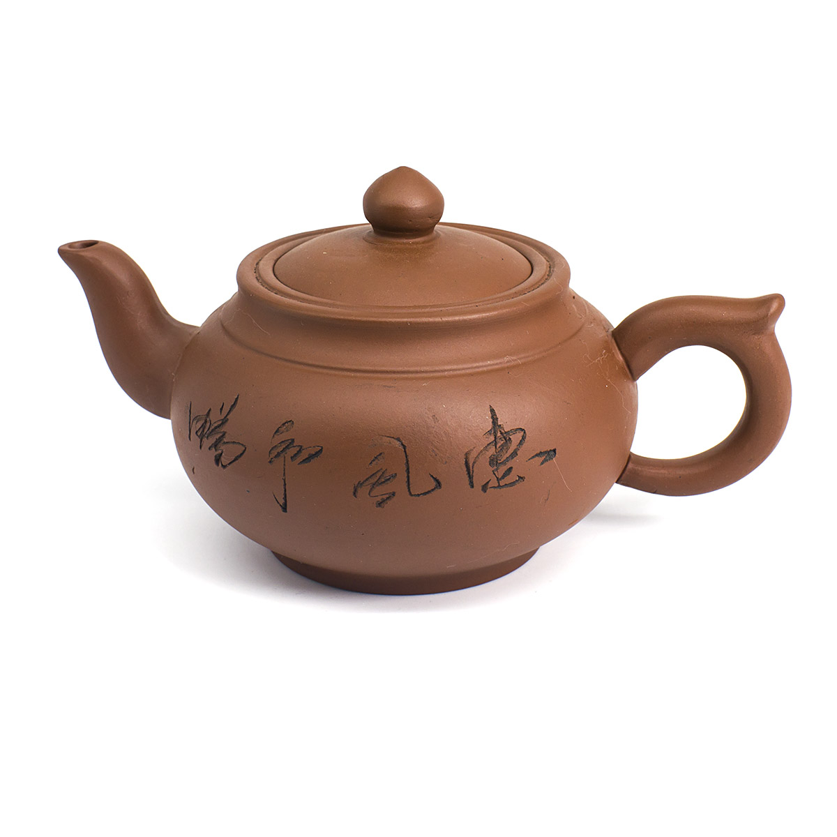 Глиняный чайник Бамбук, 350 мл