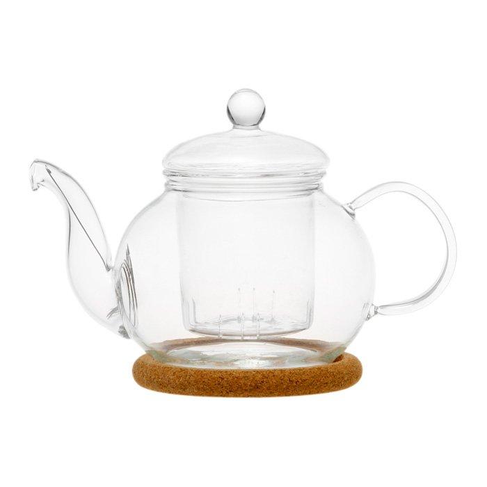 Стеклянный заварочный чайник Подснежник, 350 мл (уцененный товар) книжки в кармашке змея в шапочке комплект из 4 книжек уцененный товар 2