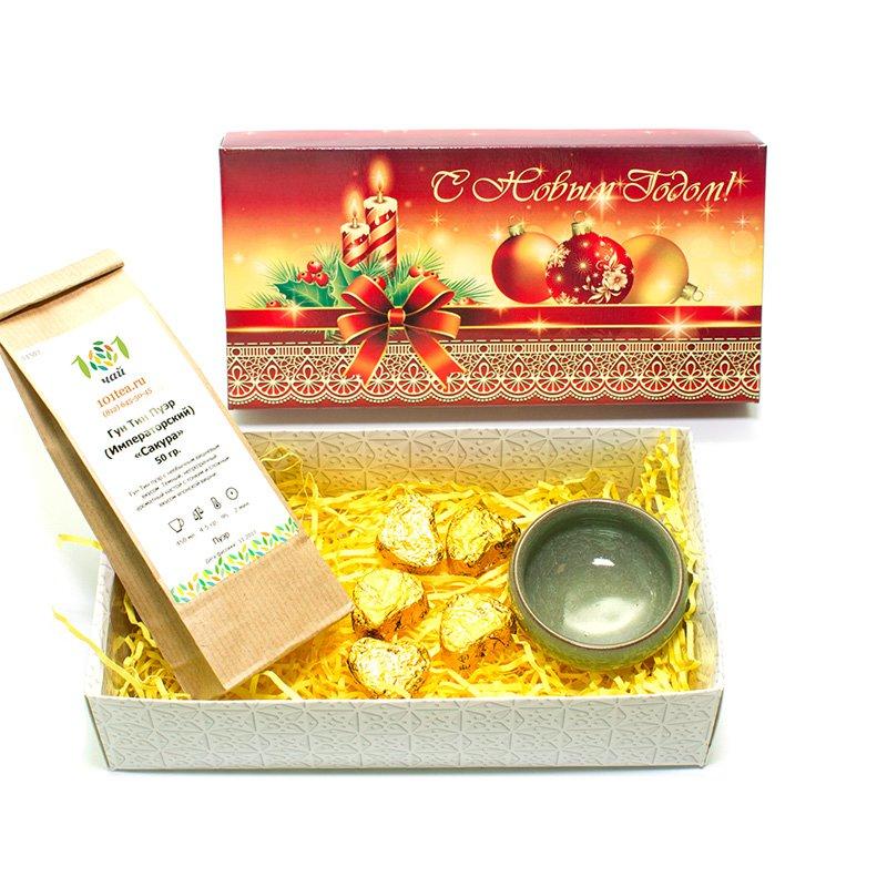 Новогодний подарочный набор №23 от 101 Чай