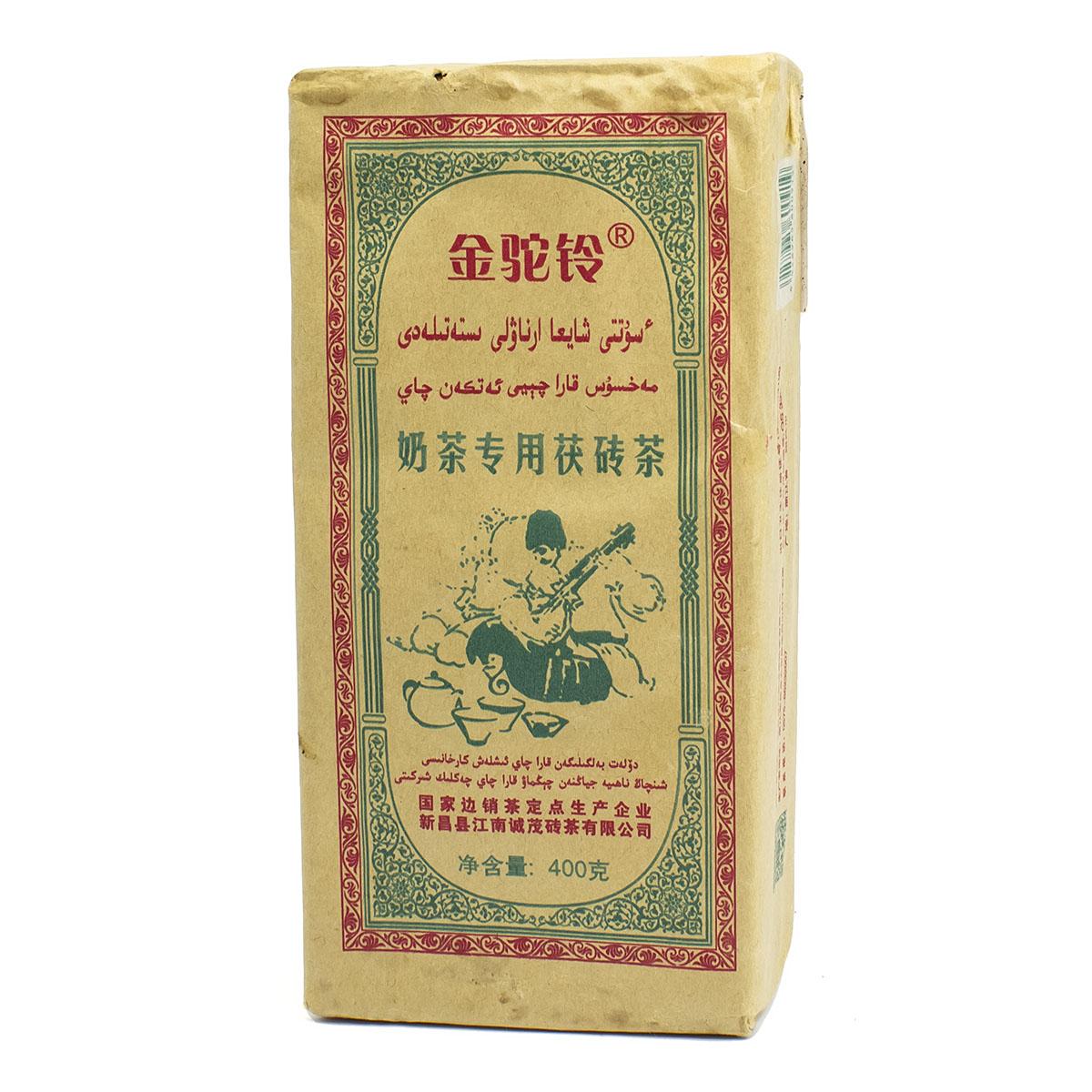 Чай черный Най Ча Чжунь Юнг Фу Чжуань Ча Zarapshan, 2016, кирпич, 400 г чай белый бай ча мини то ча 5 7 г