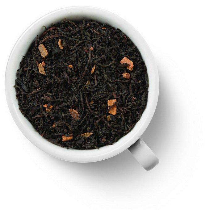 Черный ароматизированный чай с корицей