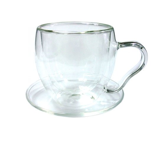 """Чайная пара-термос """"Канны"""", из жаропрочного стекла, 200 мл от 101 Чай"""
