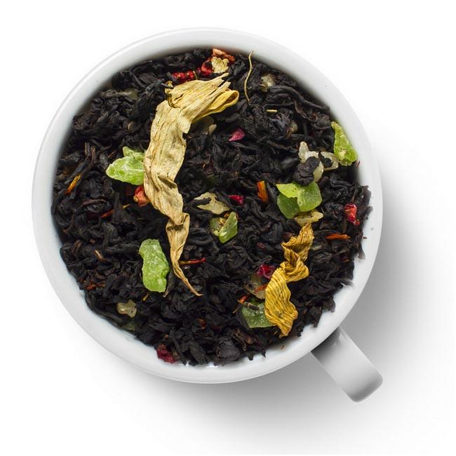 Черный ароматизированный чай Сокровища Карибского моря от 101 Чай