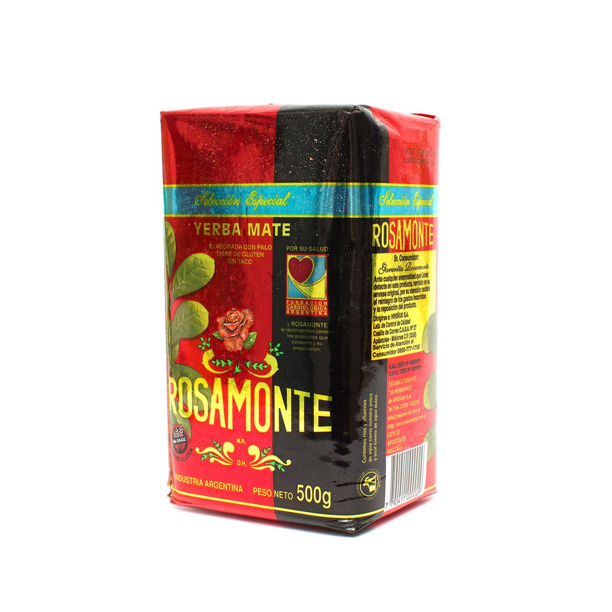 Мате Rosamonte Especial, 500 г мате rosamonte despalada 500 г