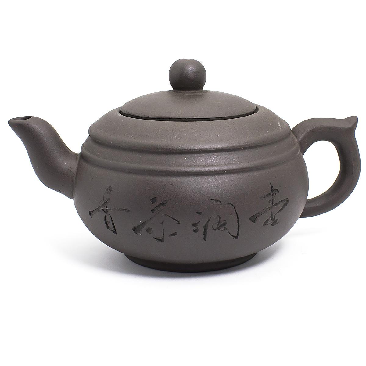 Глиняный чайник Чайный домик, 350 мл