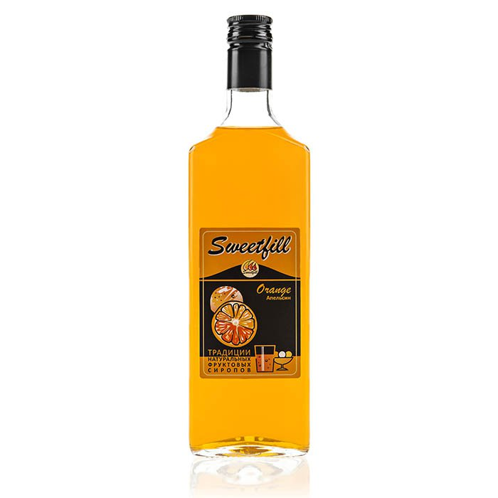 Сироп SweetFill апельсин, 0,5 л