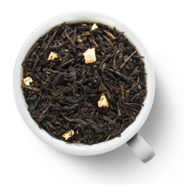Черный ароматизированный чай Апельсин со сливками