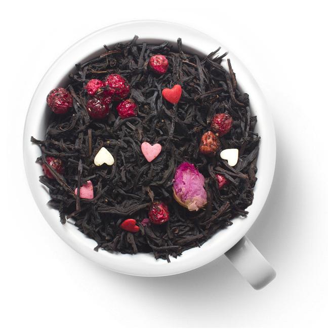 Черный ароматизированный чай Сладкий романс