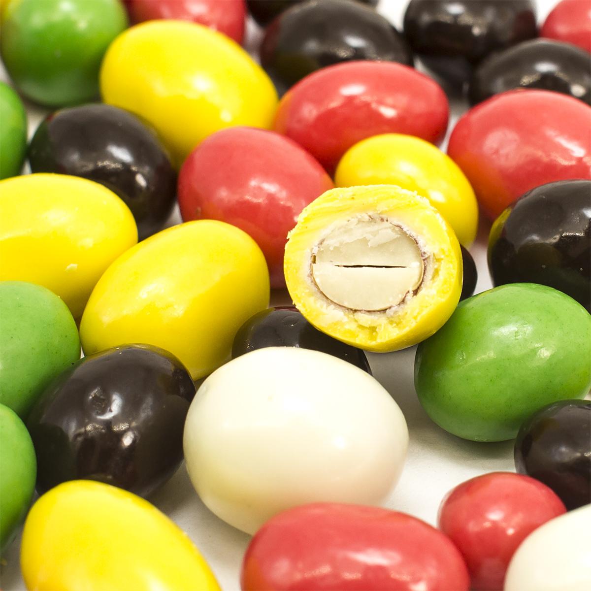 Арахис в цветной шоколадной глазури, 150 г джаз арахис жареный соленый 40 г