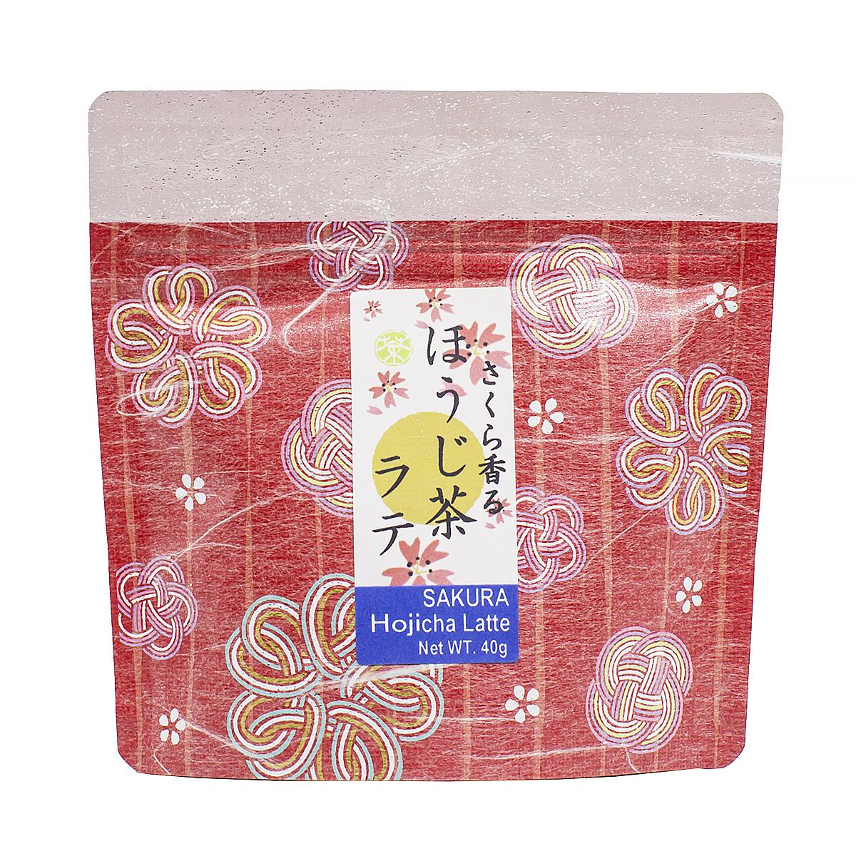 Чай зеленый Сакура Ходзича Латте, 40 г