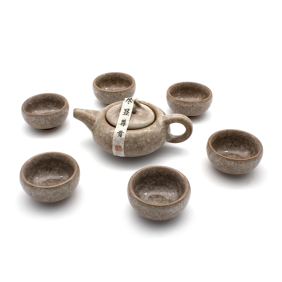 """Чайный сервиз """"Нежность"""" (7 предметов)"""
