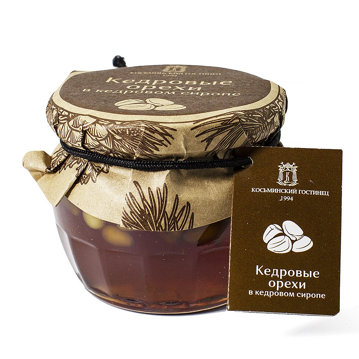 Купить со скидкой Кедровые орехи в кедровом сиропе, 160 г