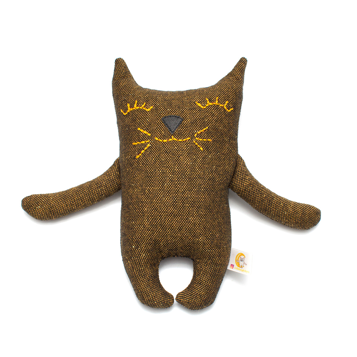 Чайный кот коричневый