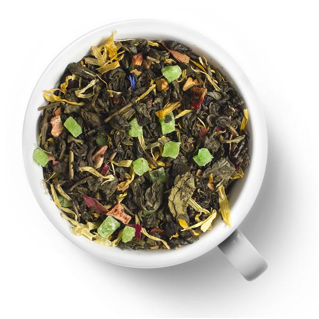 Зеленый ароматизированный чай Сила тайги