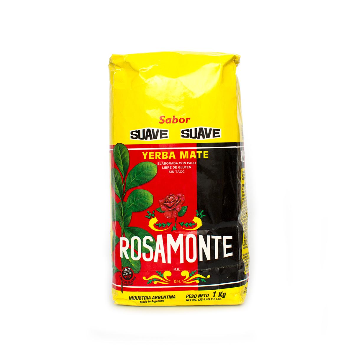 Мате Rosamonte Suave, 1000 г мате rosamonte despalada 500 г
