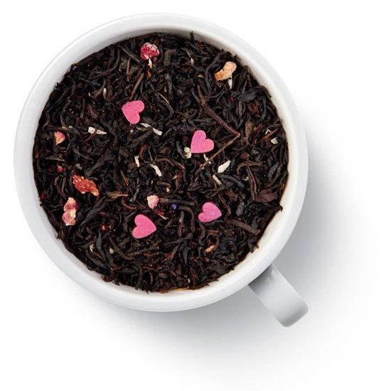 Черный ароматизированный чай Святой Валентин