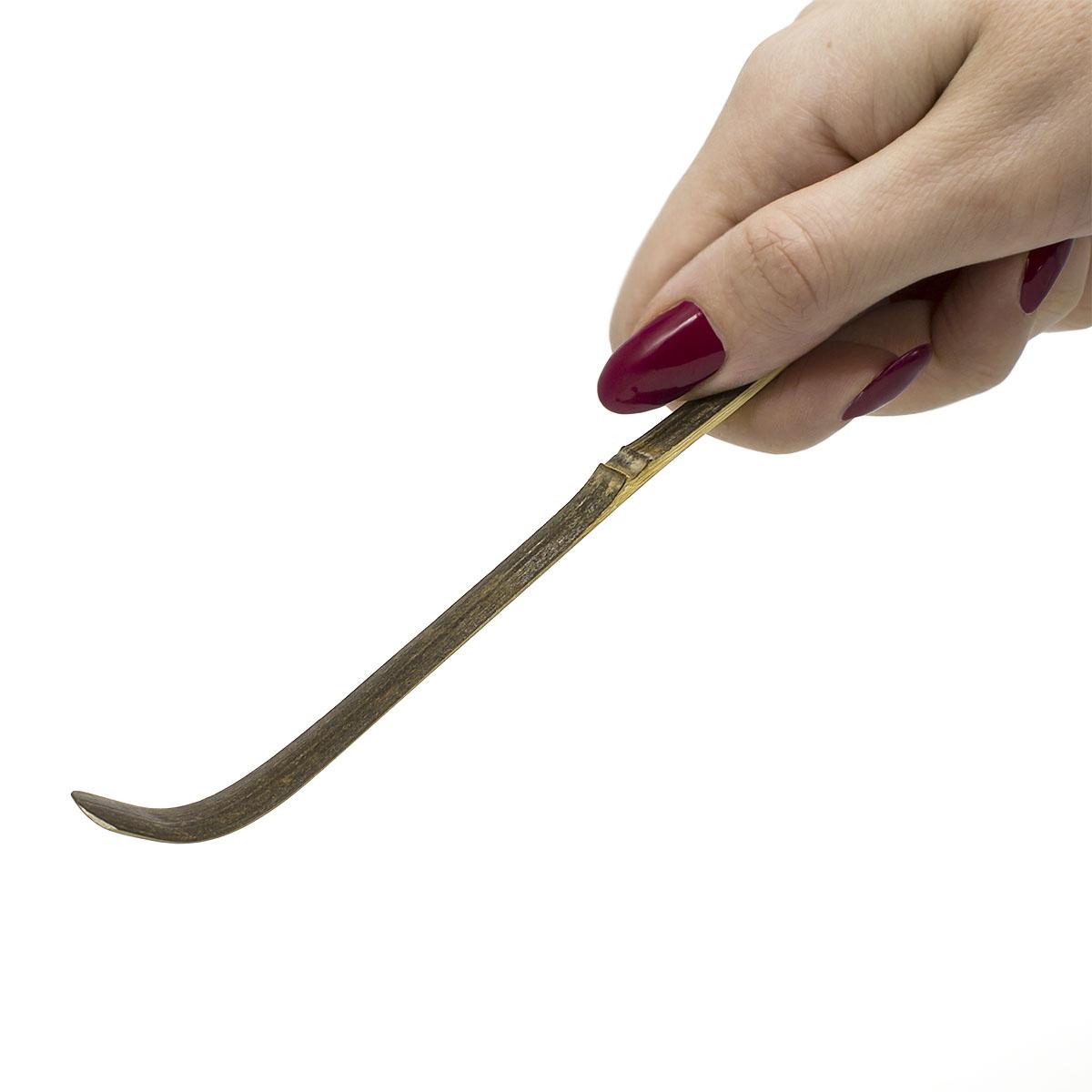 Мерная ложка для Матча (темный бамбук) чоп raho белый бамбук часенов матча венчиком
