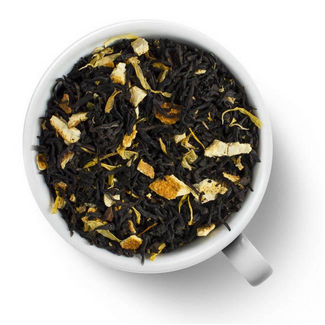 Чай черный Апельсин с корицей