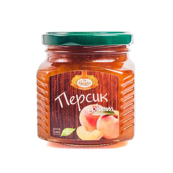 Джем из персиков Te-Gusto, 330 г цена в Москве и Питере