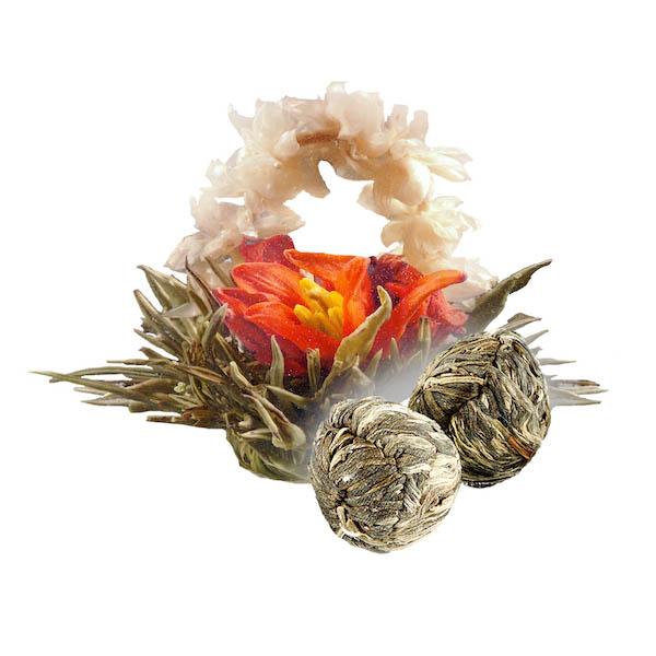 Связанный чай Бай Хуа Сян Цзы (Лунный сад) в инд. упаковке