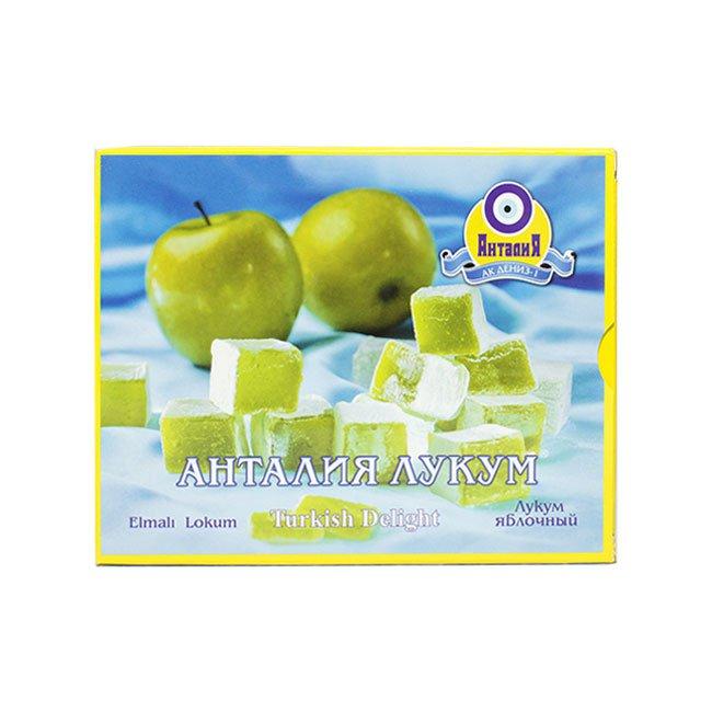 Лукум яблочный, 125 г конфеты вкусная помощь для женского счастья 125 г