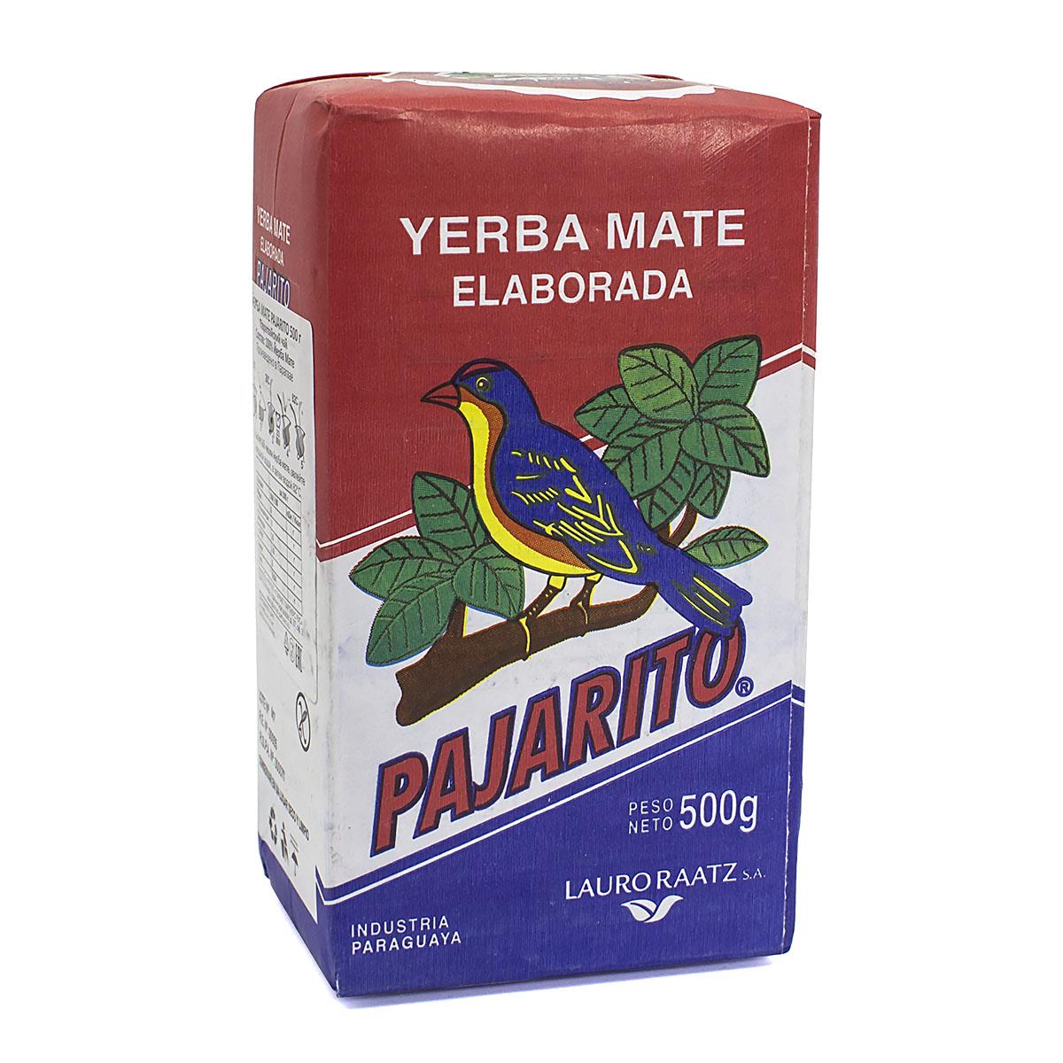 Мате Pajarito Tradicional, 500 г мате amanda tradicional pressed 250 г