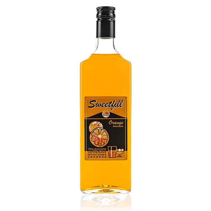 Сироп SweetFill Апельсин, 0,5 л (уцененный товар) сироп sweetfill апельсин 0 5 л