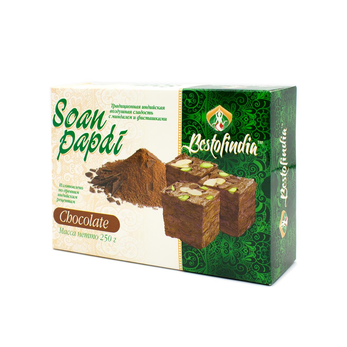 Соан Папди Шоколад BestofIndia, 250 г