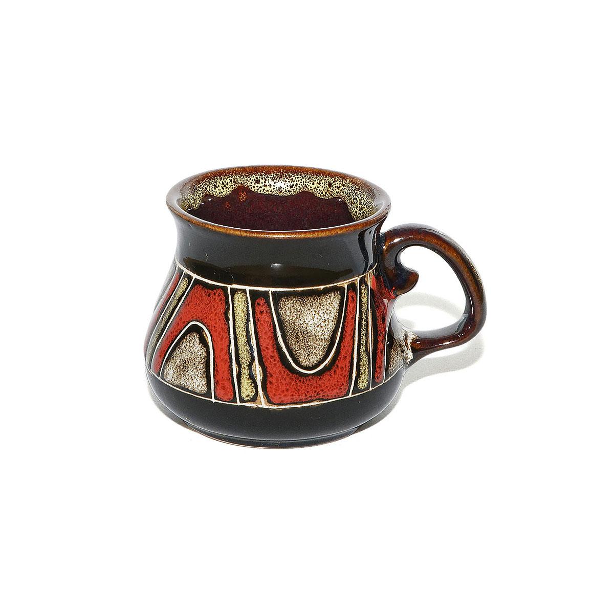 """Чашка глиняная """"Орнамент"""", 100 мл"""