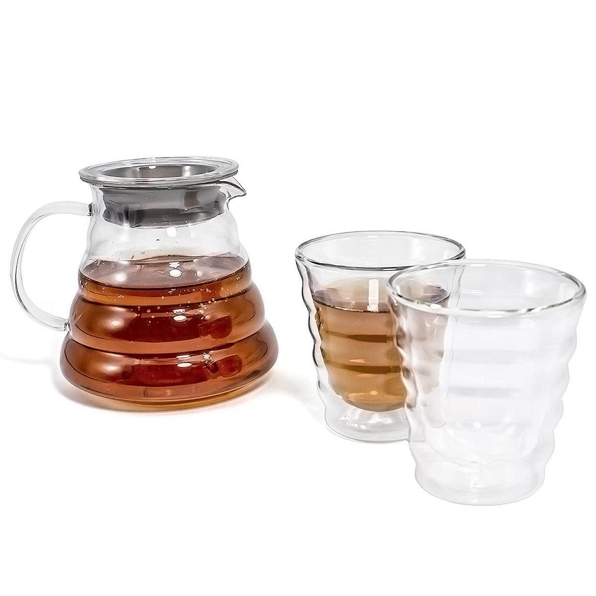 Набор: сервировочный чайник