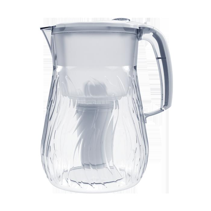 Фильтр-кувшин Аквафор Орлеан, белый фильтр сверхтонкой очистки fibos фибос премиум