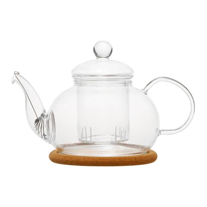 """ВГ / Стеклянный заварочный чайник """"Орхидея"""", 650 мл"""