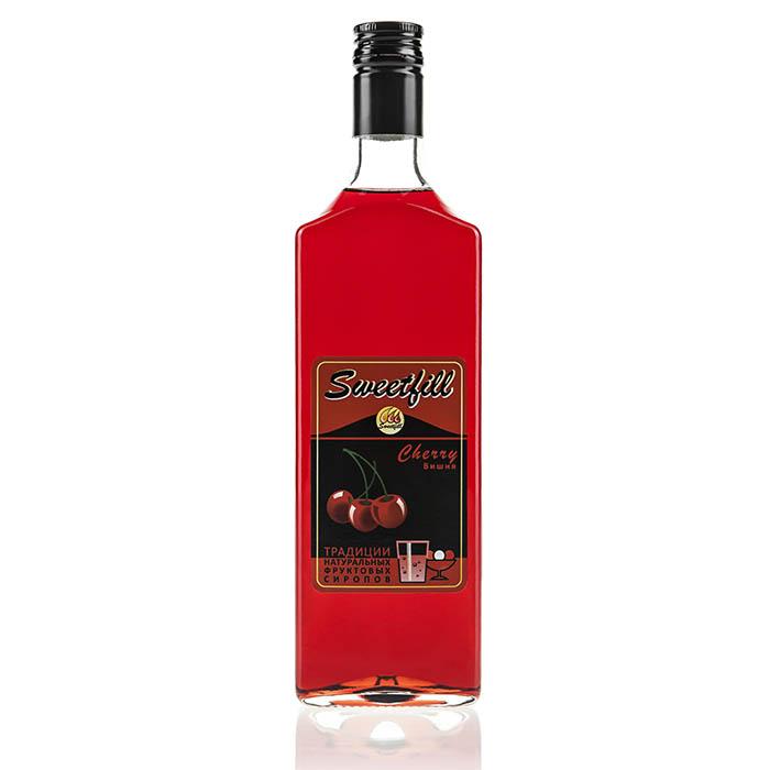 Сироп SweetFill Вишня, 0,5 л