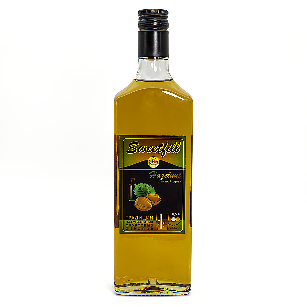 Сироп SweetFill Лесной орех, 0,5 л vedrenne карамель сироп 0 7 л