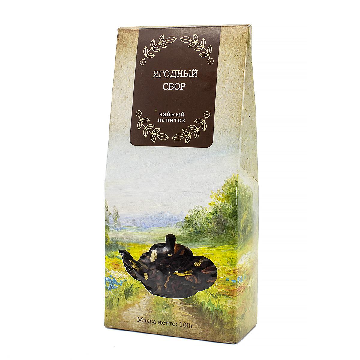 Чай травяной Ягодный сбор, 100 г