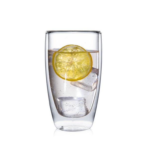 Фото - Высокий стакан с двойными стенками, 300 мл стакан cnglass набор стаканов с двойными стенками мужчина и женщина jb07002 5 jb07003 5 стекло