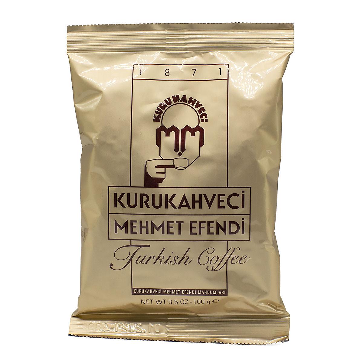 Кофе молотый Kurukahveci Mehmet Efendi мягкая упаковка,100 г