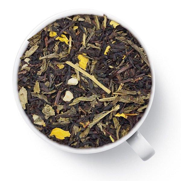 Чай зеленый с черным ароматизированный Чернослив ореховый