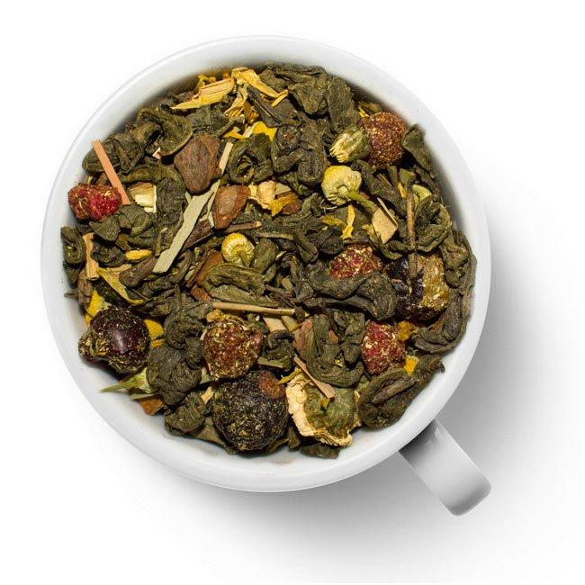 Зеленый ароматизированный чай Стройный силуэт