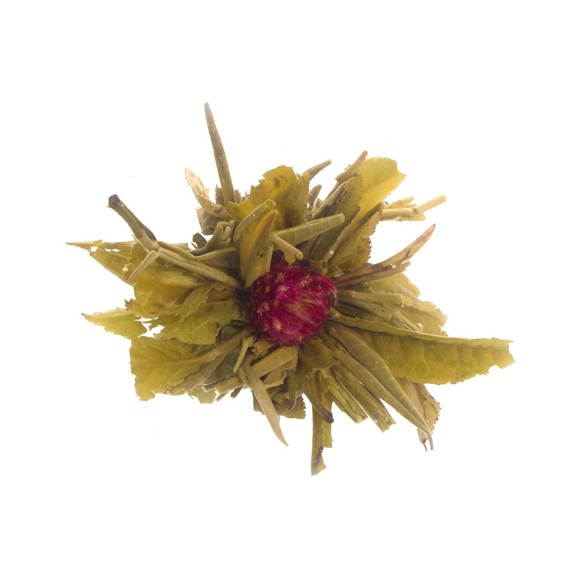 Связанный чай Моли Юй Лун Тао (Жасминовый персик Дракона), в уп. 5 шт.