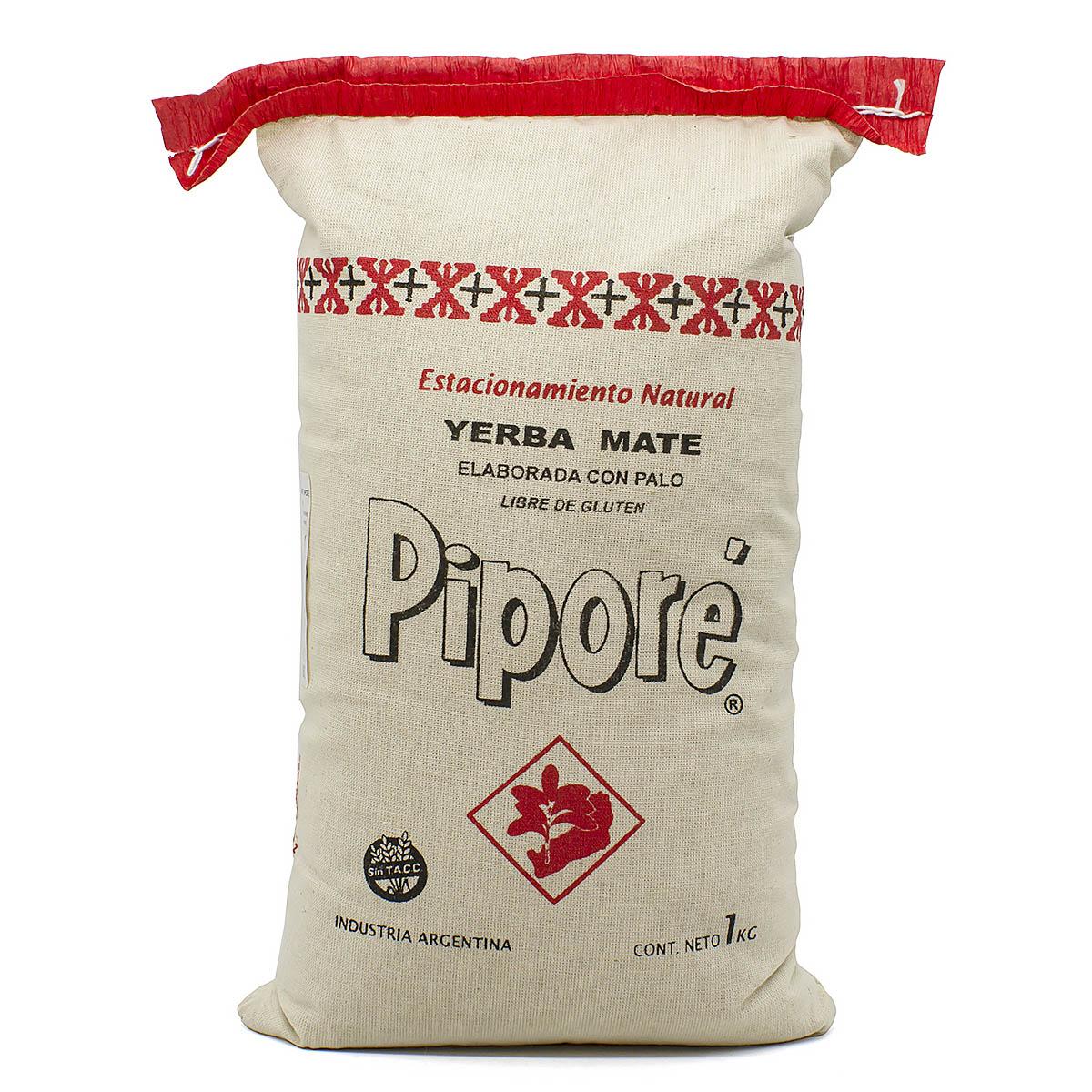 Мате Pipore Elaborada Con Palo в льняном мешке, 1000 г