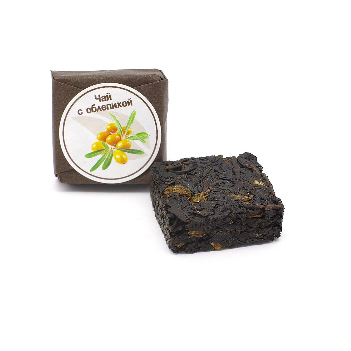 Чай с облепихой прессованный, кубик 5-7 г чай черный байховый бонтон крепкий цейлонский крупнолистовой 726 с ароматом бергамота 100 г