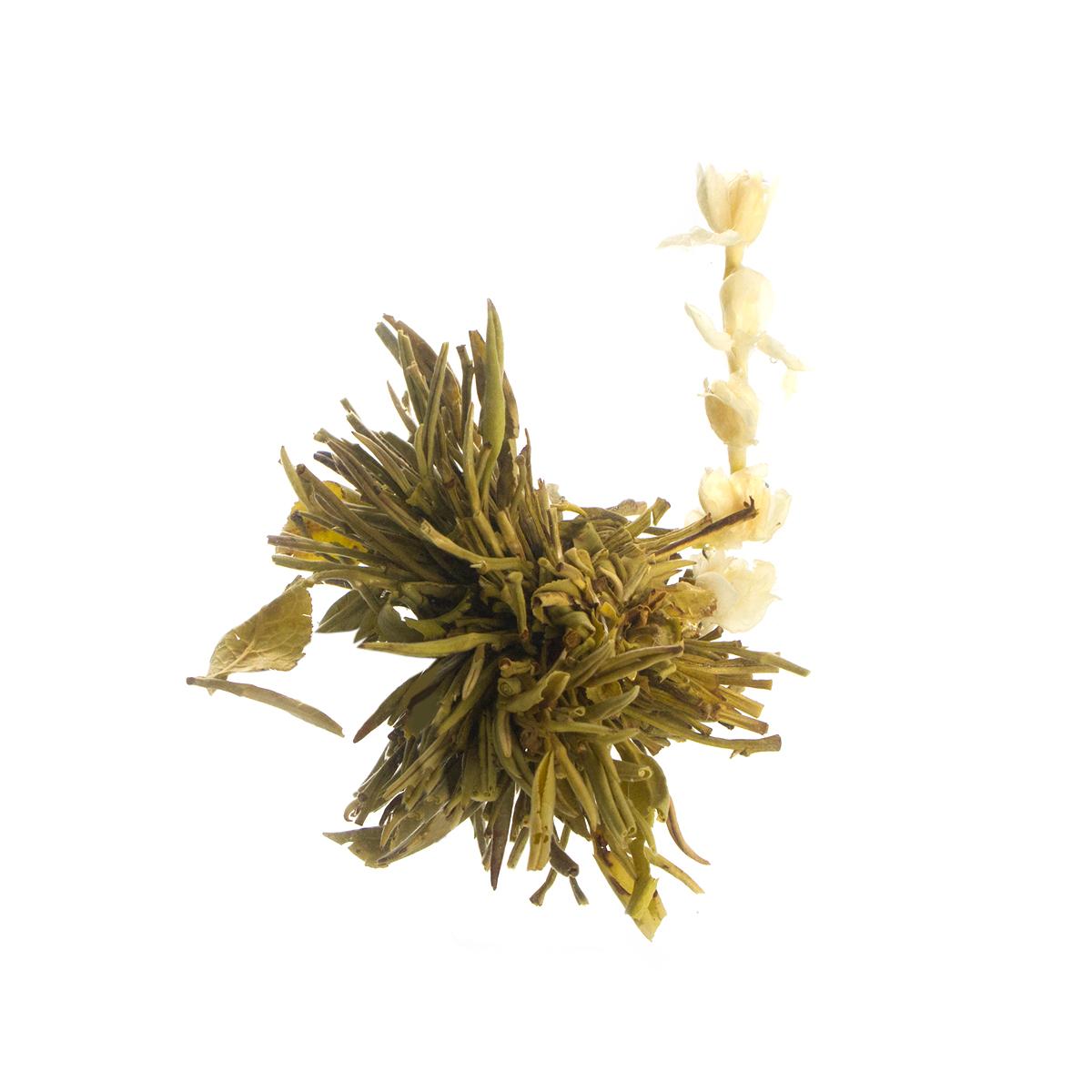 Связанный чай Хай Бэй Ту Чжу (Рождение жемчужины), упаковка 5 шт. от 101 Чай