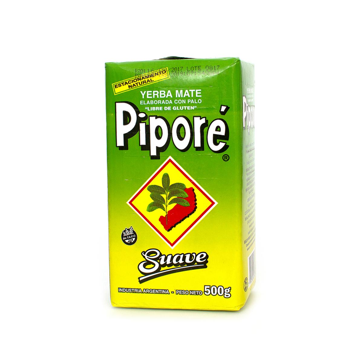Мате Pipore Suave pressed, 500 г мате amanda tradicional pressed 250 г
