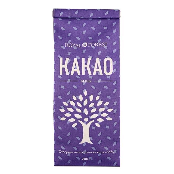 Какао-бобы (необжаренные, неочищенные), 200 г от 101 Чай