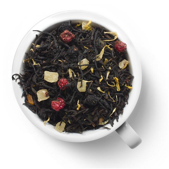 Черный ароматизированный чай Мишки Гамми
