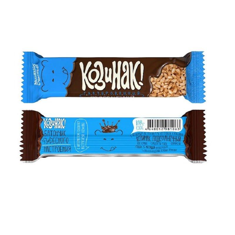 Козинак подсолнечный в шоколадной глазури, 50 г
